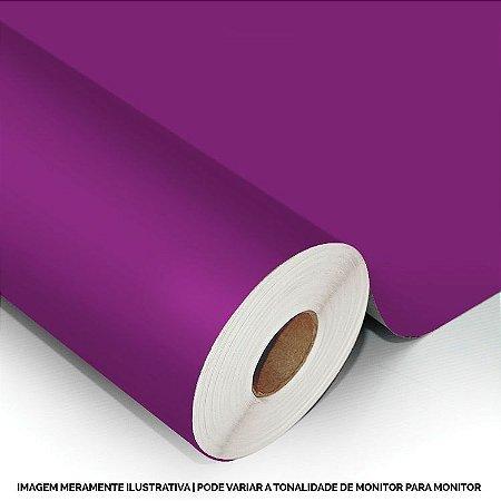 Interline - Vinil adesivo polimérico bright purple (roxo avermelhado) brilho 61 cm de largura - Aplike