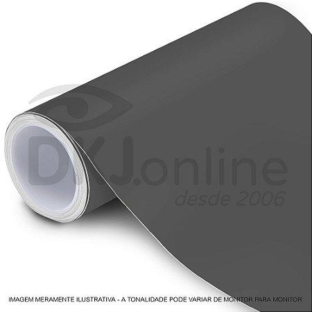 Interline - Vinil adesivo polimérico dark grey (cinza escuro) brilho 61 cm de largura - Aplike