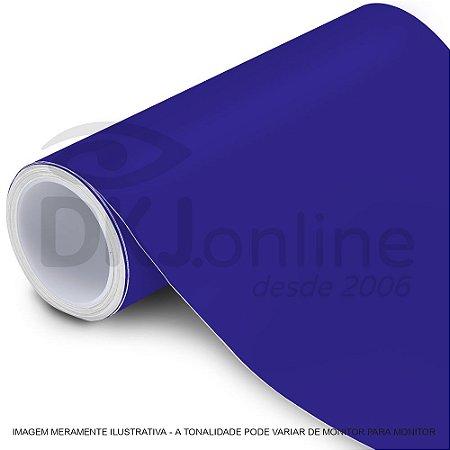 Interline - Vinil adesivo translúcido reflex blue (azul neon) brilho 61 cm de largura - Aplike