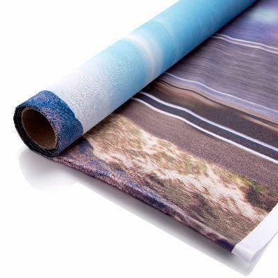 Tecido tent para impressão dye e pigmentada rolo com 127 cm x 30 metros