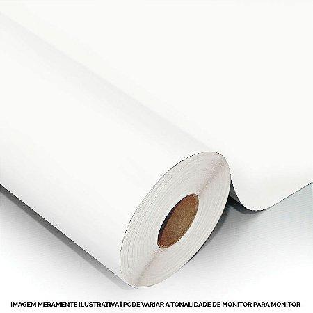 Interline - Vinil adesivo polimérico White (branco) brilho 61 cm de largura - Aplike