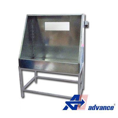 Lavador de matrizes serigráfica para quadros de até 60x80 cm