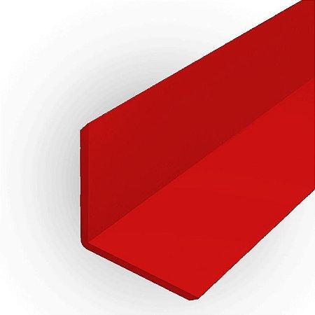 Cantoneira em ps ou pvc 16 mm x 16 mm para acabamento de placas e painéis