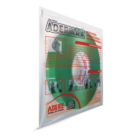 Adermax XT - Fita dupla face de massa acrílica transparente 15 mm x 20 mt com 0,8 mm