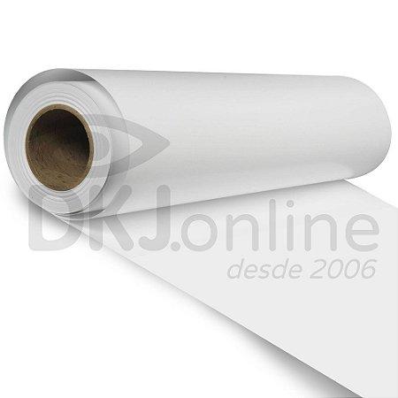 Aplinil - Vinil adesivo monomérico branco brilho 50 cm de largura - Aplike
