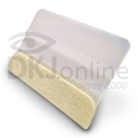 Espátula plástica com feltro natural para aplicação de vinil adesivo