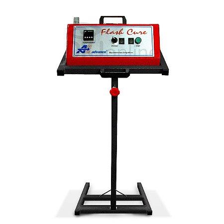 Flash cure com pedestal opção com 8 Kw ou 10 Kw
