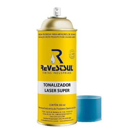 Tonalizador Laser Super spray 300 ml