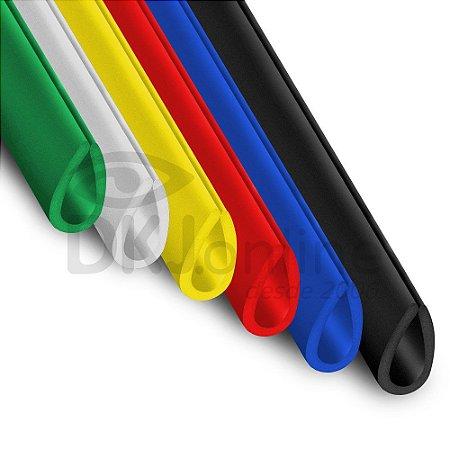 Perfil gota em ps ou pvc com opção de corte de 30 cm a 3 metros