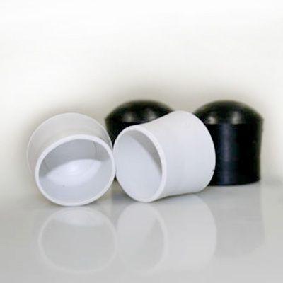 Ponteira plástica para acabamento de banner e faixa 16 mm (5/8), 19 mm (3/4) e 23 mm (7/8) pacote com 100 unidades