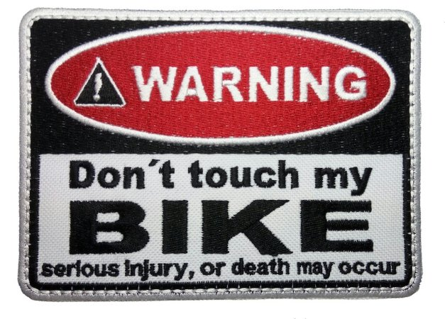 WARNING BIKE