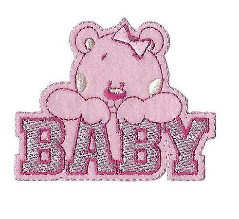 Urso Baby Rosa