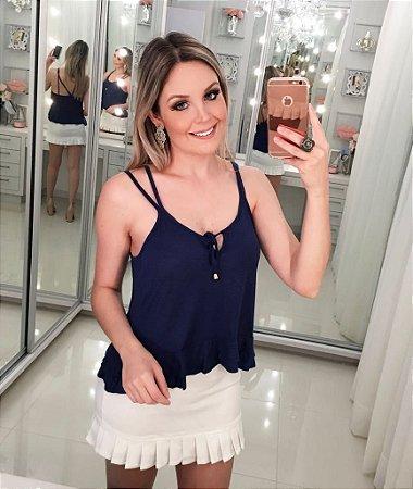 Blusinha Diva Azul
