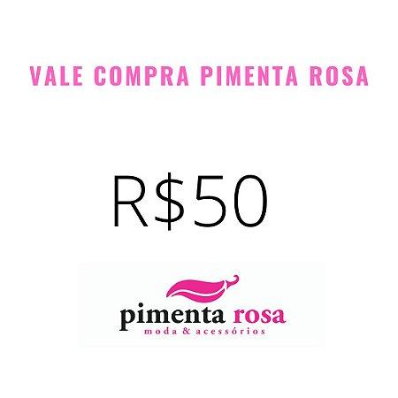 VALE COMPRA R$50