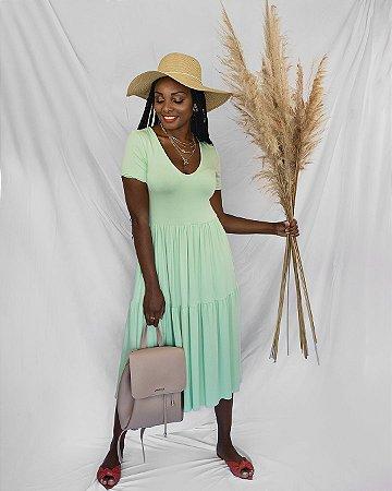 Vestido Maria Verde
