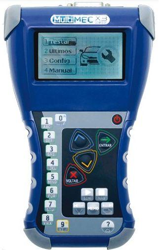 Scanner Diagnóstico Automotivo Multimec X3