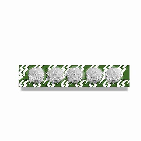 Bateria Para Vibrador LR41/ AG3/ SR41/ 392/ 192/ L736  5 Unidades