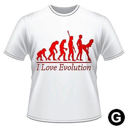 Camiseta divertida evolution