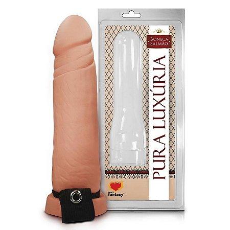 Capa peniana realística 17,5 x 4,2cm sexy fantasy
