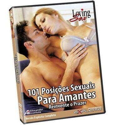 DVD - 101 Posições Sexuais para Amantes - Loving Sex