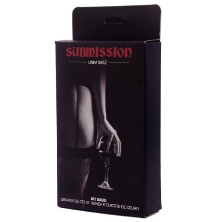 KIT BLACK SUBMISSION SEXY FANTASY