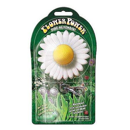 FLOWER POWER VIBE-KAYCHAIN - Vibrador em formato de flor chaveiro
