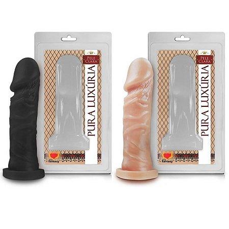 Prótese maciça 14,3 x 4cm Sexy Fantasy