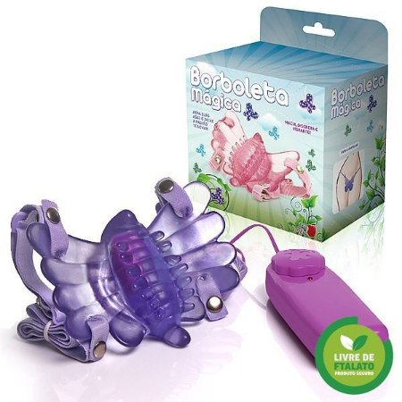 Borboleta Mágica - Butterfly Estimulador Feminino Lilás