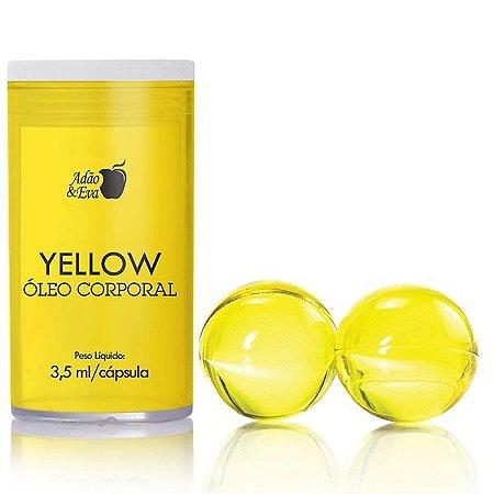 Cápsula Amarela com 2 Unidades