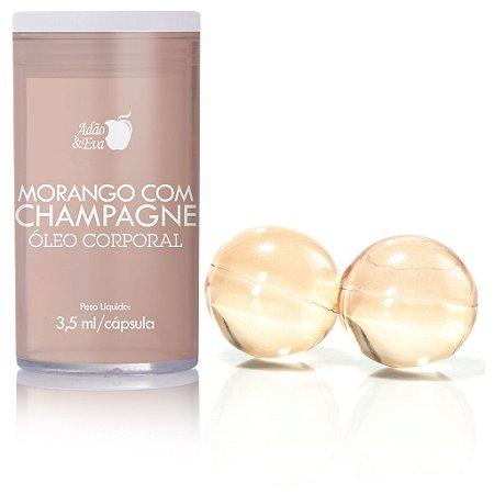 Cápsula Morango com Champagne com 2 Unidades