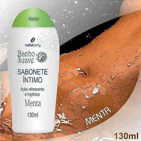 SABONETE INTIMO NATUBELLY BANHO SUAVE 130ML MENTA