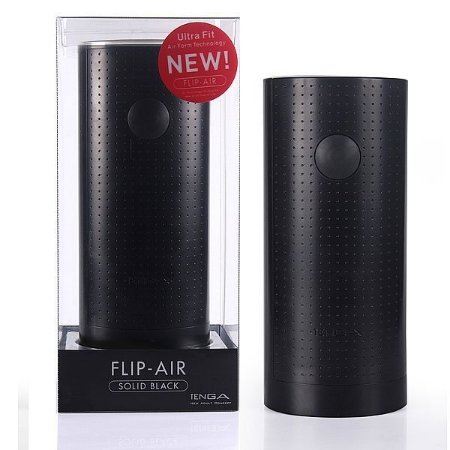 Masturbador Tenga Flip Air - Solid Black Bi