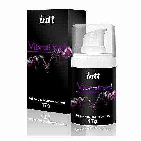 EXCITANTE UNISSEX INTT VIBRATION! 17G TRADICIONAL (CHOCOLATE)
