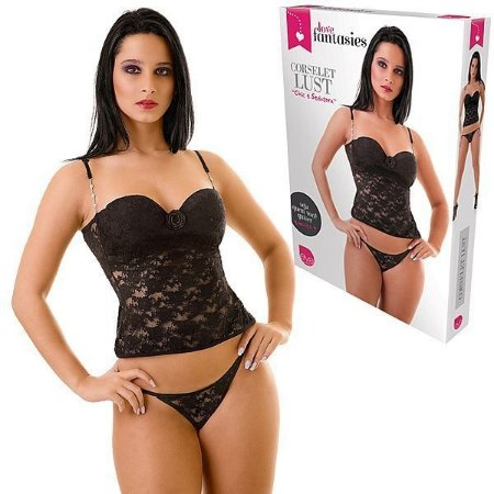 Corselet Lust + Tanga - Love Fantasies