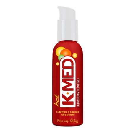 Lubrificante Íntimo K-MED Hot - 106 ml