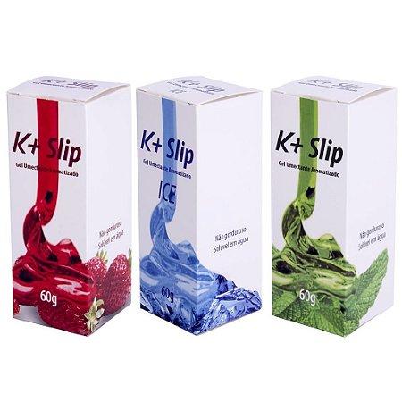 K+ slip lubrificante aromático 60g Pau Brasil