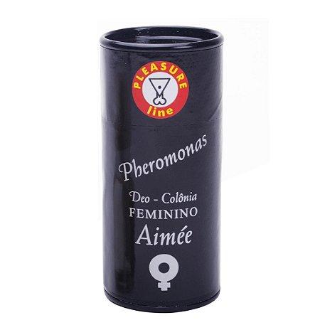 Aimée deo colônia feminina pheromonas 20ml Pleasure Line