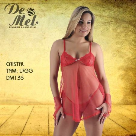 CAMISOLA DE MEL CRISTAL