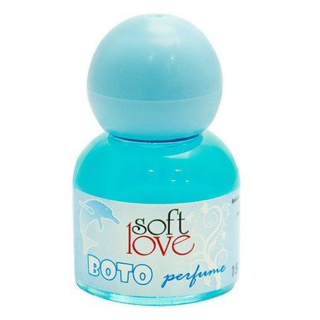 Perfume afrodisíaco boto masculino 15ml Soft Love