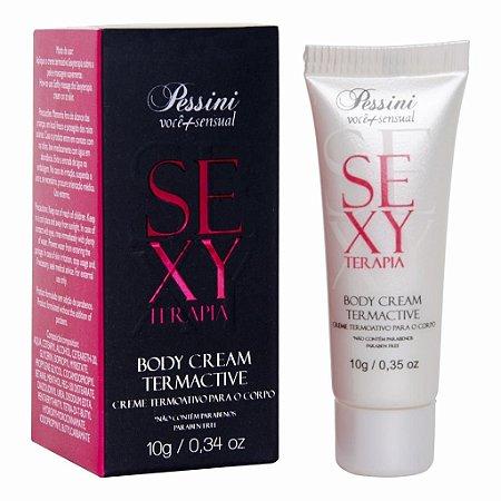 Creme termoativo sexy terapia 10g Pessini