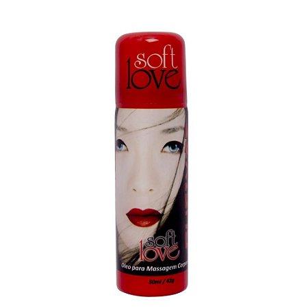 Gueixas óleo em spray afrodisíaco 50ml Soft Love