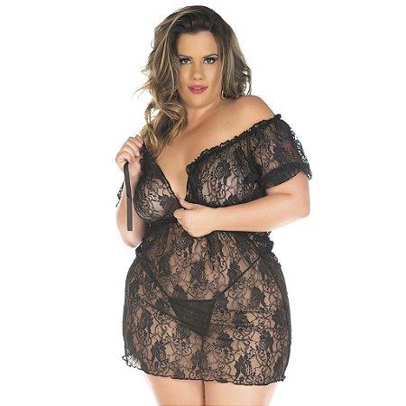 Camisola sensual plus size ciganinha Pimenta Sexy