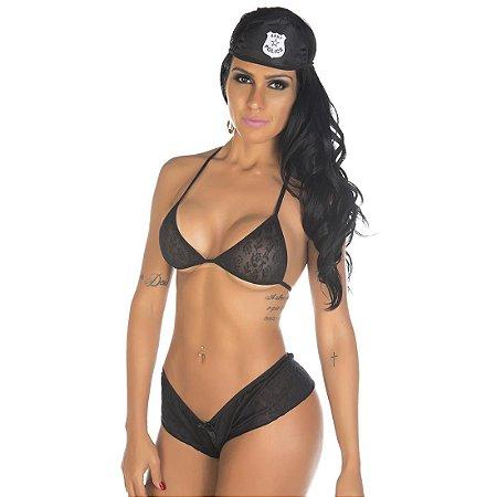 Kit mini fantasia policial ii Pimenta Sexy