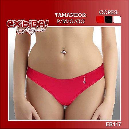 Tanga exibida lingerie EB117