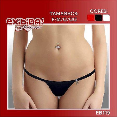 Tanga exibida lingerie EB119