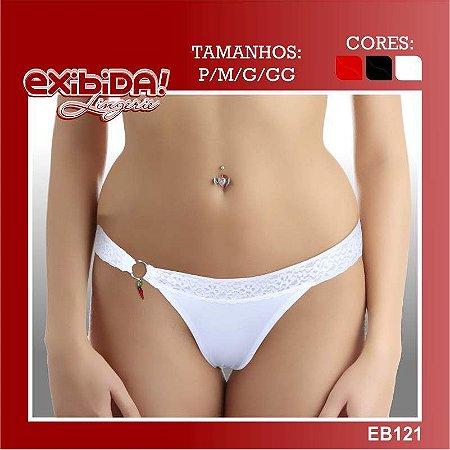 Tanga exibida lingerie EB121