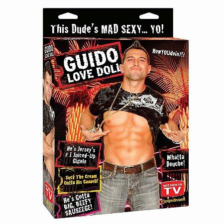 Boneco Inflável Guido Love Doll