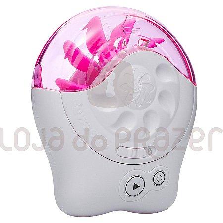 Simulador De Sexo Oral Feminino Com Línguas Rotativas Sqweel 2