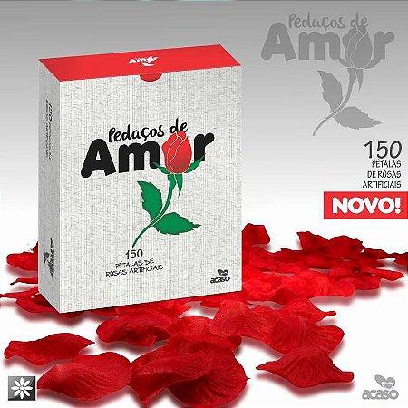 Pétalas De Rosas Acaso Pedaços De Amor Com 150un Vermelha
