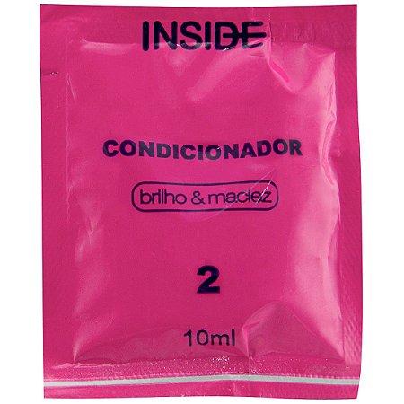 Sachê Condicionador Cabelos 10ml Inside